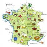 France map by Leslie Evans Illustration