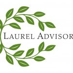 Laurel Advisors logo design by Leslie Evans