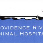 Providence River Animal Hospital logo design by Leslie Evans