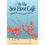Sea Floor Cafe linocut cover art by Leslie Evans Illustration