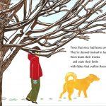 Bare trees linocut art by Leslie Evans, printmaker