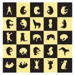 Labrador Alphabet art by Leslie Evans, Sea Dog Press
