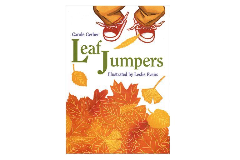 Leaf Jumpers cover art by Leslie Evans