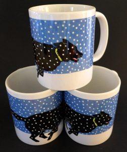 Clyde unbound mugs by Leslie Evans, Sea Dog Press