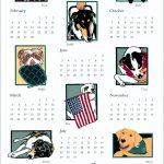 NEADS calendar art by Leslie Evans illustration