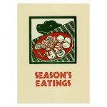 season's eatings art by Leslie Evans, Sea Dog Press