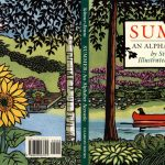Summer, An Alphabet Acrostic cover illustration by Leslie Evans Illustration