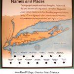watercolor Algonquin region map by Leslie Evans Illustration