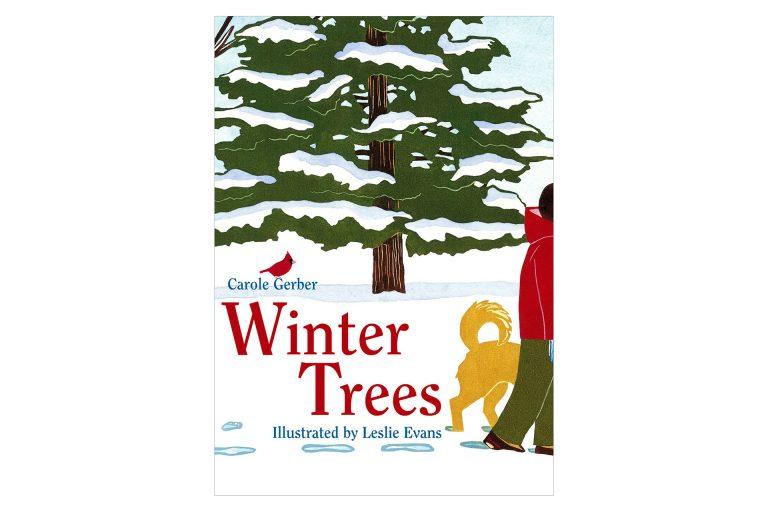 Winter Trees cover art by Leslie Evans